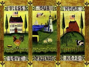 Bless our Home Love Friends Hope Lang by Cheryl Bartley