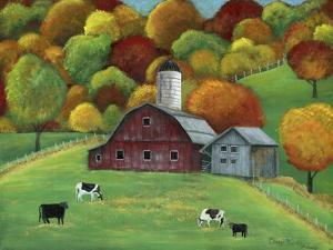 Colors of Autumn Barnyard by Cheryl Bartley