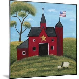 Little Red Barn by Cheryl Bartley