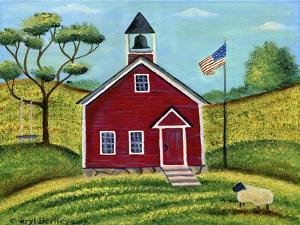 Little Red School House by Cheryl Bartley