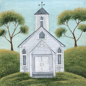 Little White Church by Cheryl Bartley