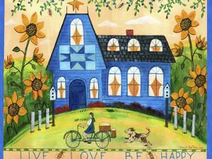 Live Love Be Happy Lang 2018 by Cheryl Bartley