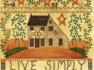 Live Simply Folk Art by Cheryl Bartley
