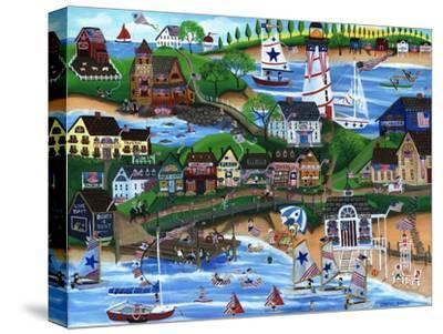 Old New England Seaside 4th of July Celebration