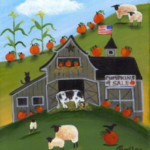 Pumpkins 4 Sale Cheryl Bartley by Cheryl Bartley