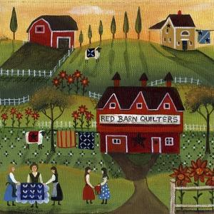 Red Barn Quilters by Cheryl Bartley