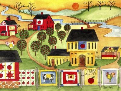 Sunrise Farm Apple Quilts 4 Sale Cheryl Bartley