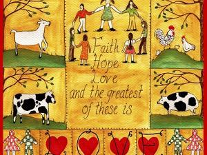 The Greatest of These is Love Lang by Cheryl Bartley