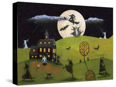 White Witch Halloween Dance Cheryl Bartley