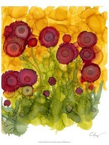 Poppy Whimsy VIII by Cheryl Baynes