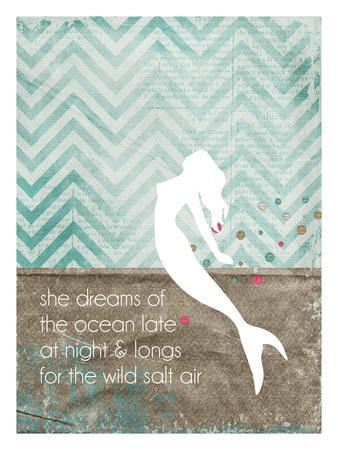She Dreams Mermaid