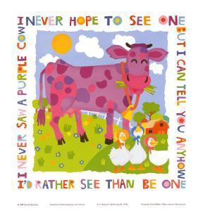 Purple Cow by Cheryl Piperberg