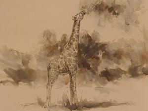 Giraffe's Isoceles by Cheryl Roberts