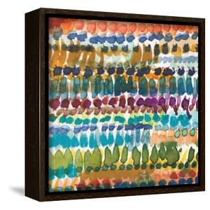 Colorful Patterns V Crop I by Cheryl Warrick