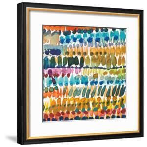 Colorful Patterns V Crop II by Cheryl Warrick