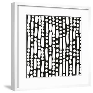 Cross Current Square Up IV BW by Cheryl Warrick