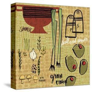Kitchen Play IV by Cheryl Warrick
