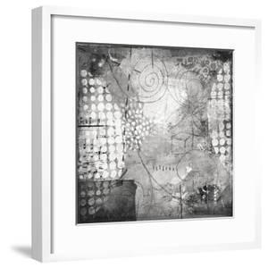 Under the Tree Square I BW by Cheryl Warrick