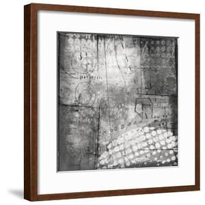 Under the Tree Square III BW by Cheryl Warrick