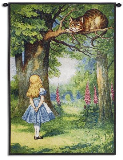 Cheshire Cat--Wall Tapestry
