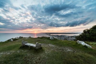 Chesil Beach and the Jurassic Coast Dorset-Oliver Taylor-Photographic Print