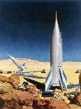 Mars Mission, 1950S-Chesley Bonestell-Giclee Print
