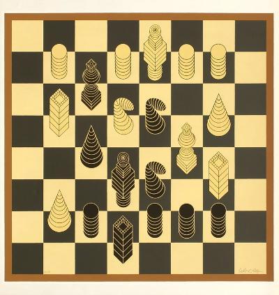 Chess-Victor Vasarely-Premium Edition