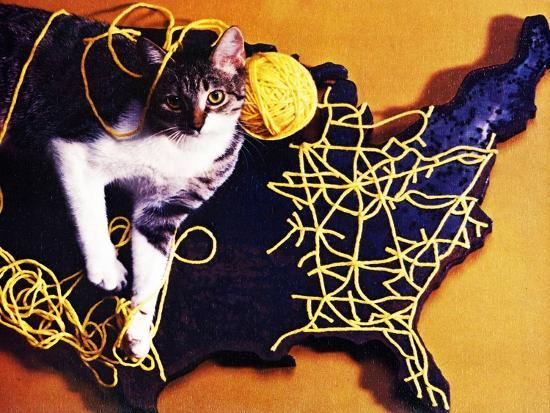 Chessie, Map Out the Tracks!--Giclee Print