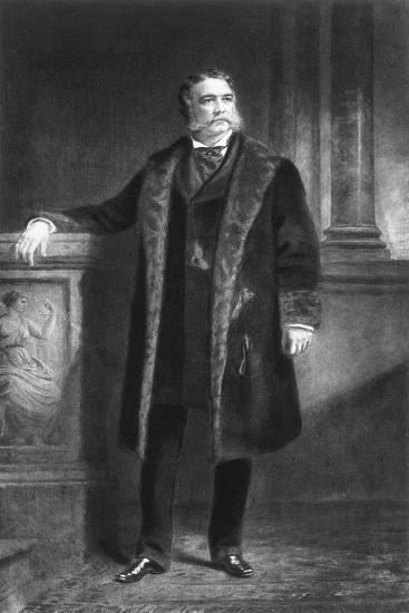 Chester A Arthur, 21st President of the United States of America, (1901)-Unknown-Giclee Print