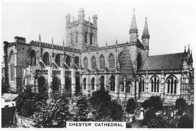 Chester Cathedral, 1936--Giclee Print