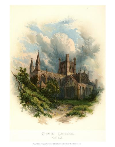 Chester Cathedral, North East-Arthur Wilde Parsons-Art Print
