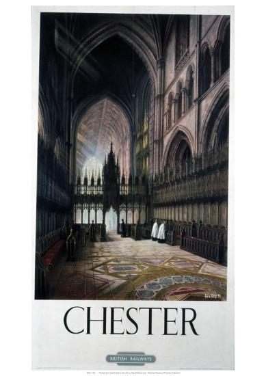 Chester Inside Cathedral--Giclee Print