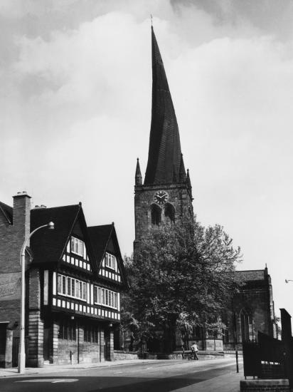 Chesterfield Church--Photographic Print