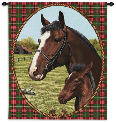 Cheval Wall Hanging