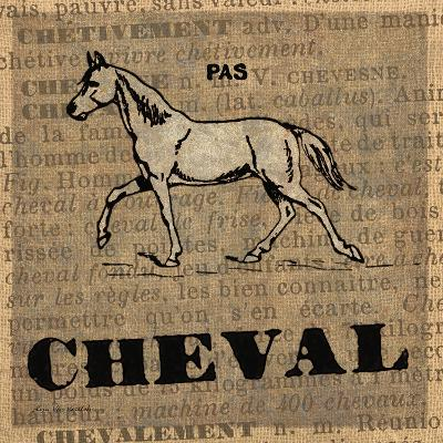 Cheval-Lisa Ven Vertloh-Art Print