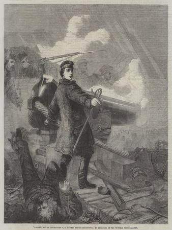 Gallant Act of Commander W N Hewett before Sebastopol