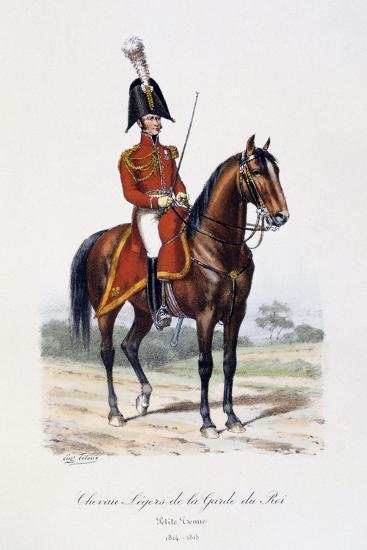 Chevau-Légers De La Garde Du Roi, Petite Tenue, 1814-15-Eugene Titeux-Giclee Print