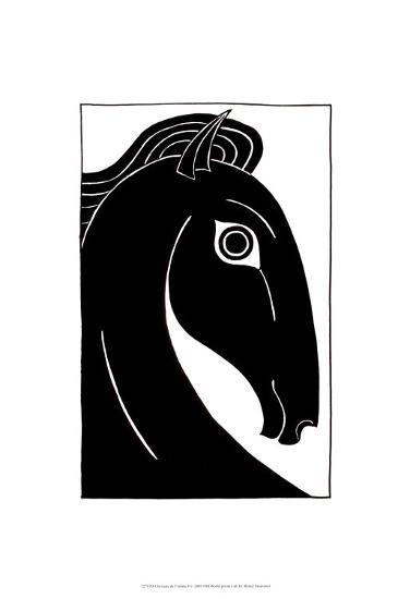 Chevaux d' Femme I-Strammel-Art Print