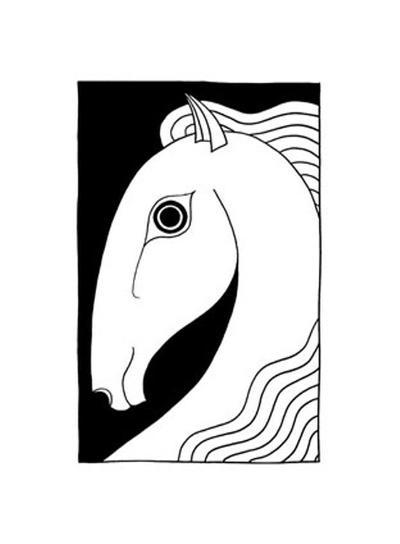 Chevaux d' Femme II-Strammel-Art Print