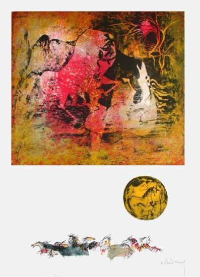 Chevaux en Liberte IV-Lebadang-Collectable Print