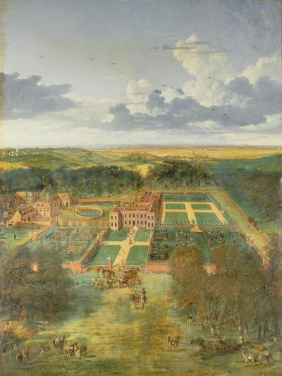 Cheveley Park, Near Newmarket-Jan Siberechts-Giclee Print
