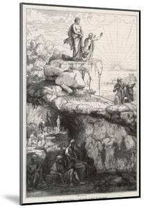 "In Plato's ""Republic"" Socrates Likens Mankind to Prisoners in a Cave by Chevignard"
