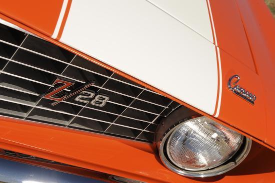 Chevrolet Camaro Z28 1969-Simon Clay-Photographic Print