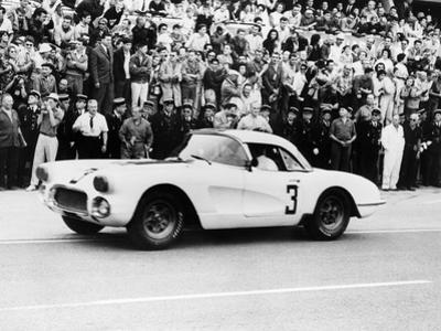 Chevrolet Corvette, Le Mans, France, 1960