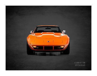 Chevrolet Corvette Stingray 1974-Mark Rogan-Giclee Print