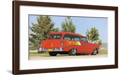 Chevrolet Handyman custom 1956-Simon Clay-Framed Photographic Print