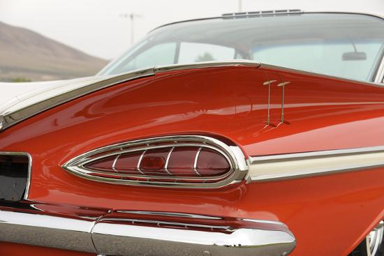 Chevrolet Impala Bubble top 1959-Simon Clay-Photographic Print