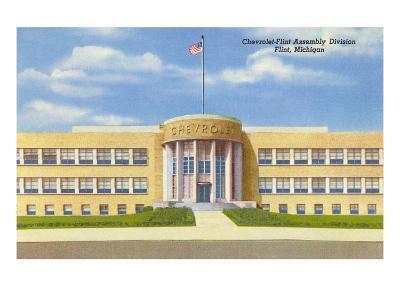 Chevrolet Plant, Flint, Michigan--Art Print
