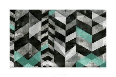 Chevron Exclusion I-Jennifer Goldberger-Limited Edition