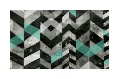 Chevron Exclusion II-Jennifer Goldberger-Limited Edition